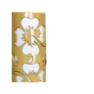 Bambus Lampen Hibiskus 37 90